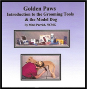 complete guide book - introduction to the grooming tools and the model dog