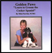 complete guide book - learn to groom the Cocker Spaniel
